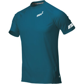 inov-8 Base Elite Baselayer korte mouwen Heren, blue green